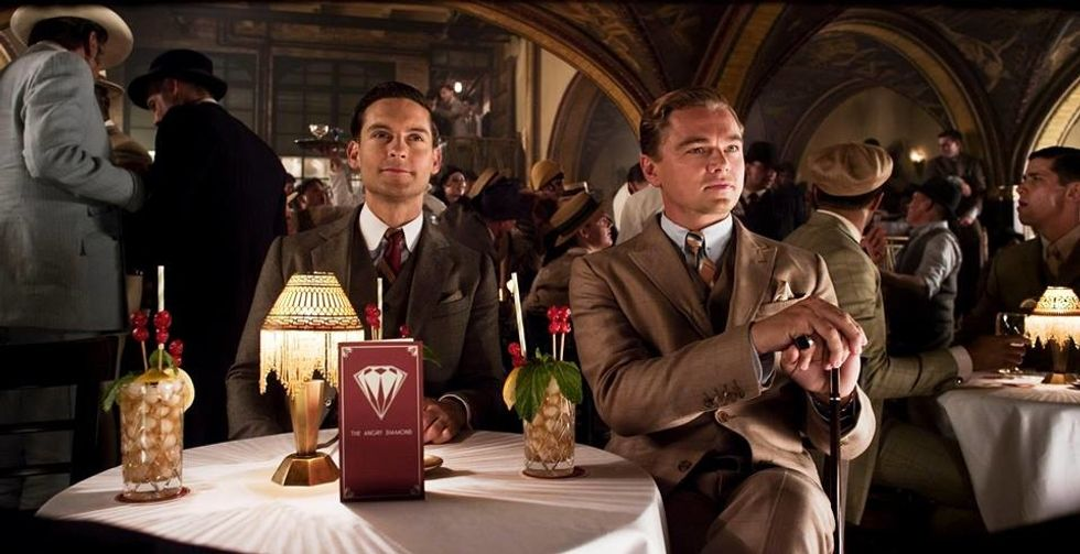 Facebook / The Great Gatsby