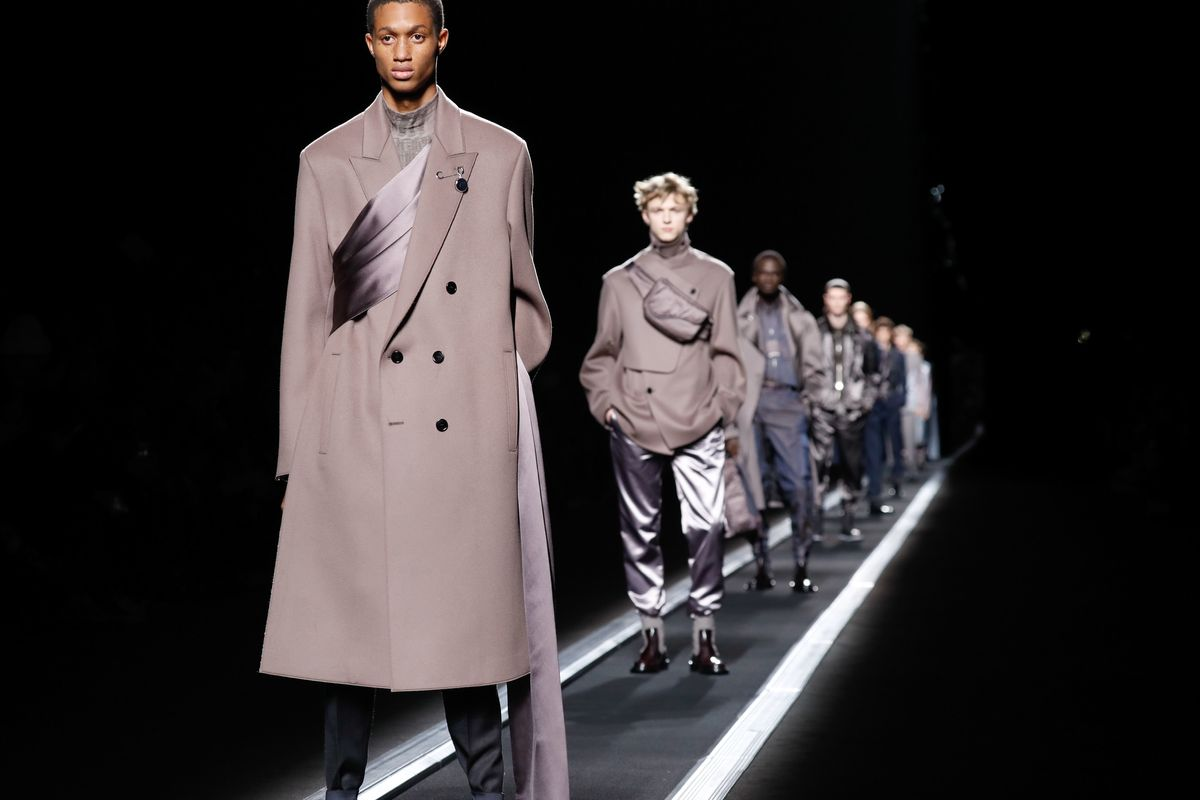 Dior Rides a Conveyor Belt Towards the Future