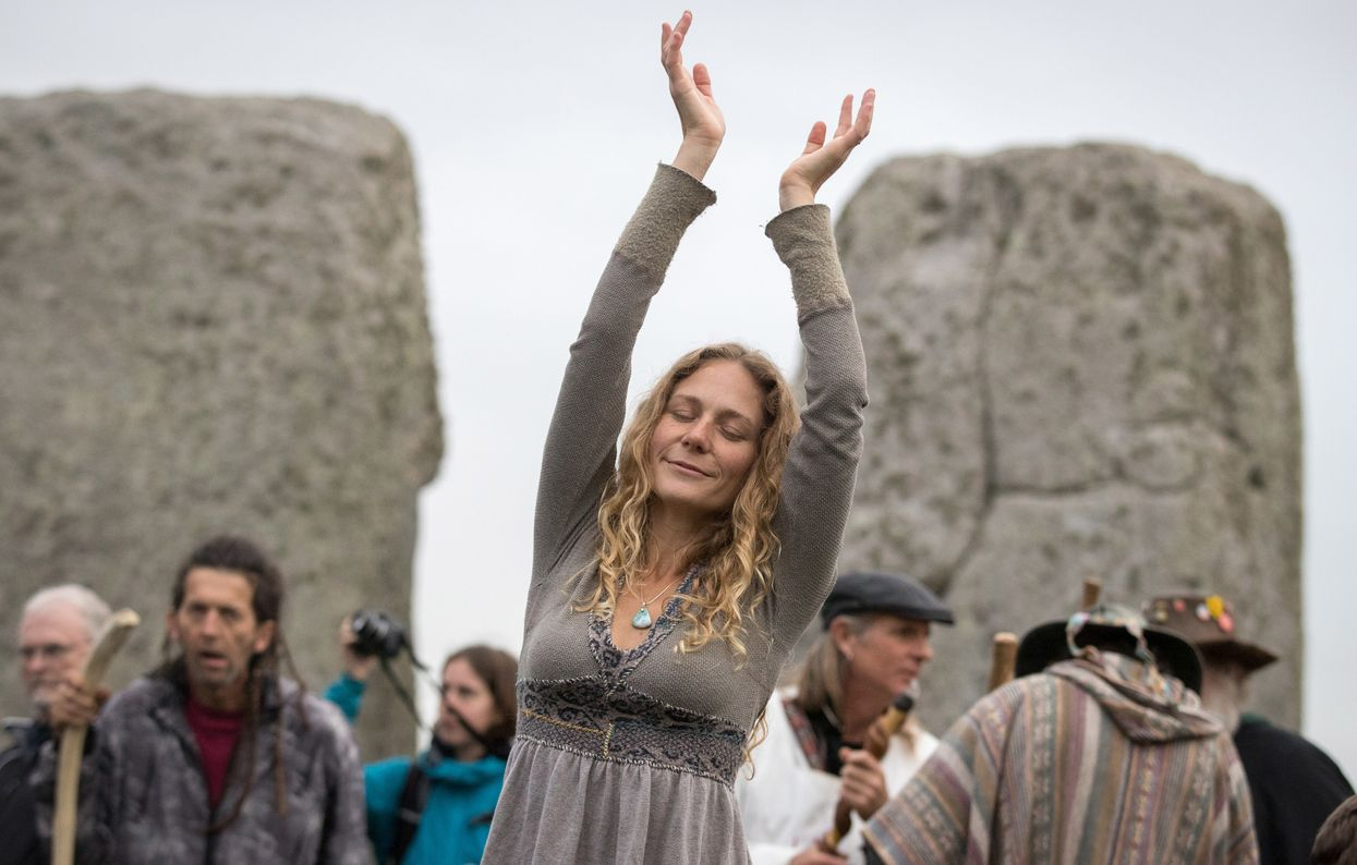 An event at Stonehenge.