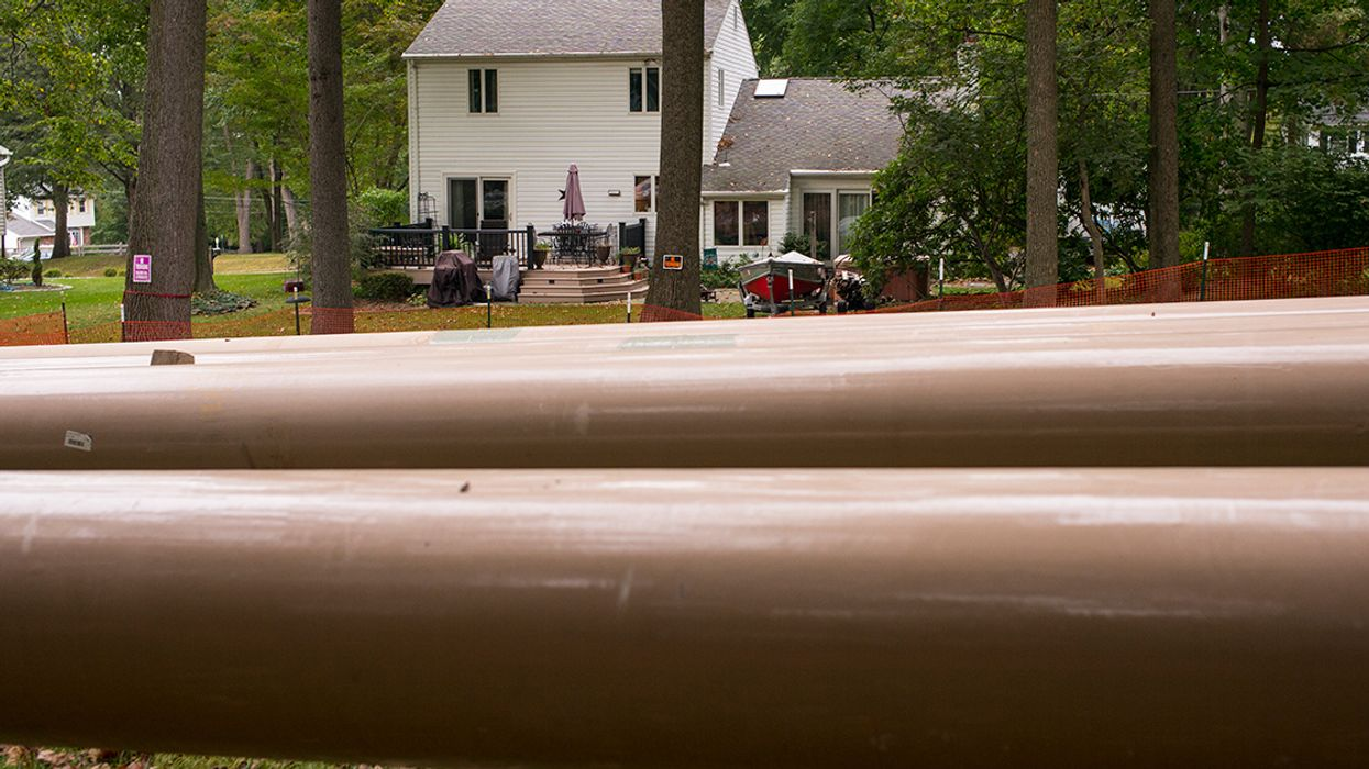 Another Sinkhole Opens Along Controversial Mariner East Pipeline Route