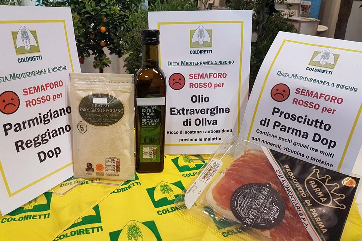 Etichette trasparenti a tavola per eliminare il falso made in Italy