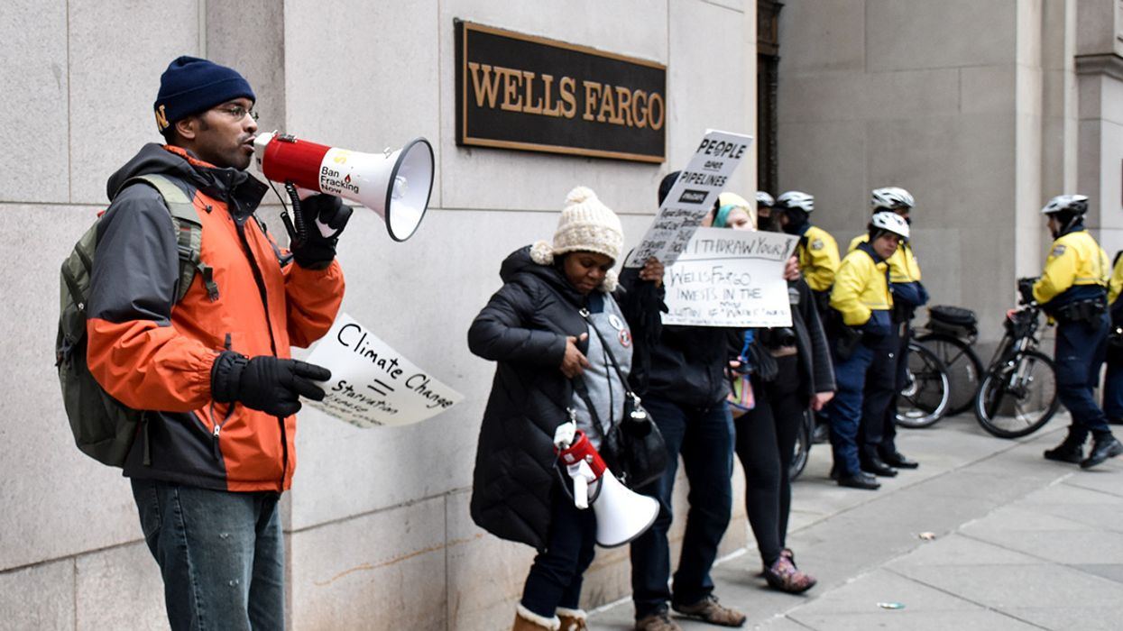 'Despicable': Wells Fargo Bashed for Plans to Cash In on Global Climate Crisis