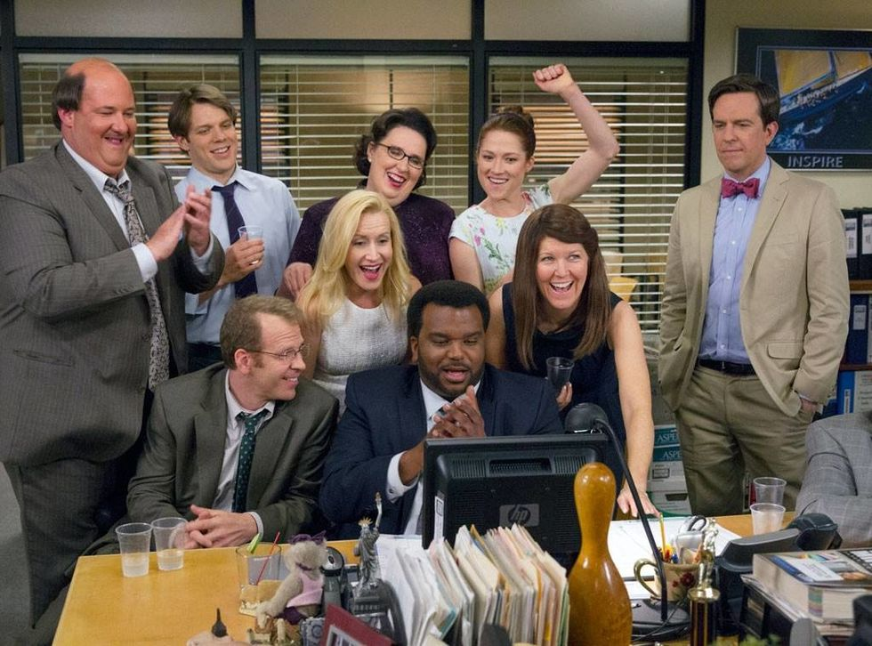 How Similar Is Working In An Office To 'The Office'?