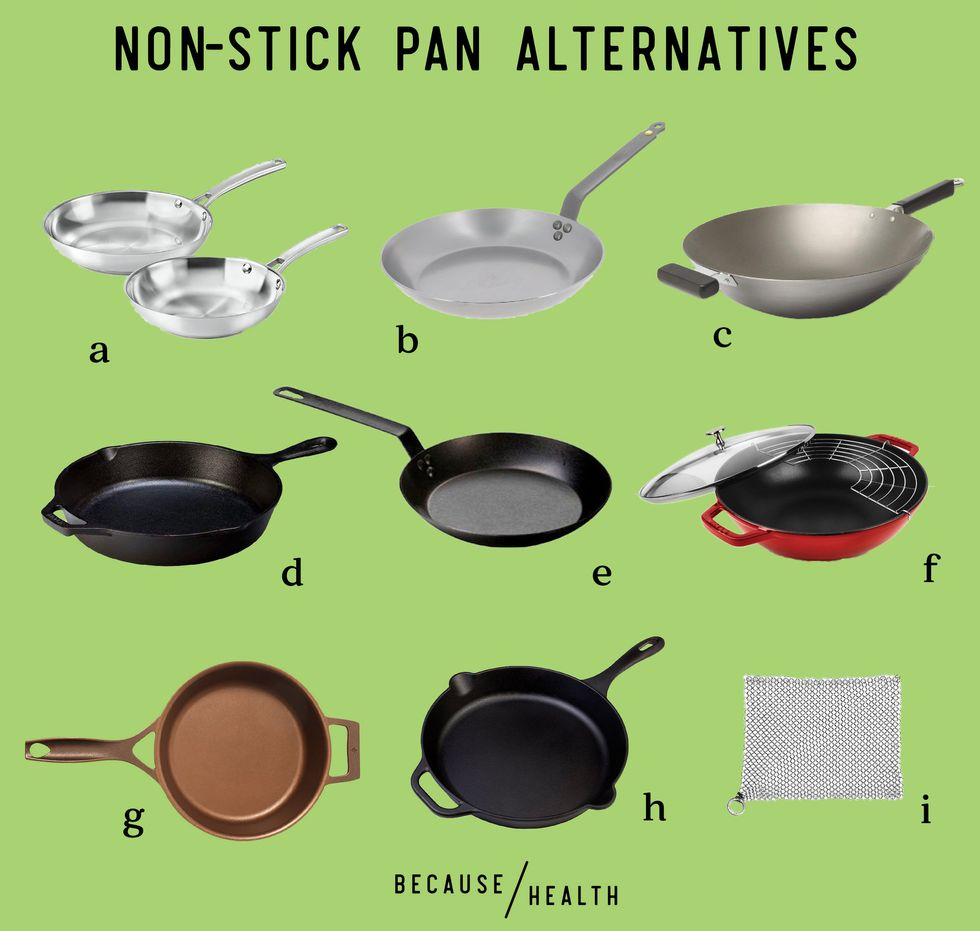 Non-Toxic Alternatives to Non-Stick Pans