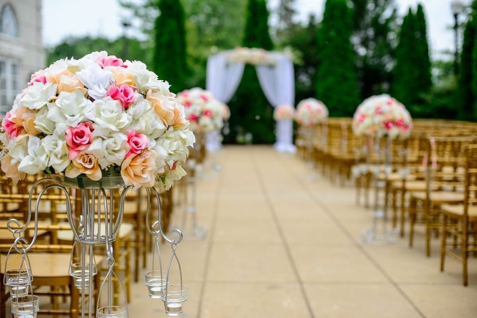 Why Brides Want A Venue Rather Than A Backyard Wedding, And It's Not What You Think