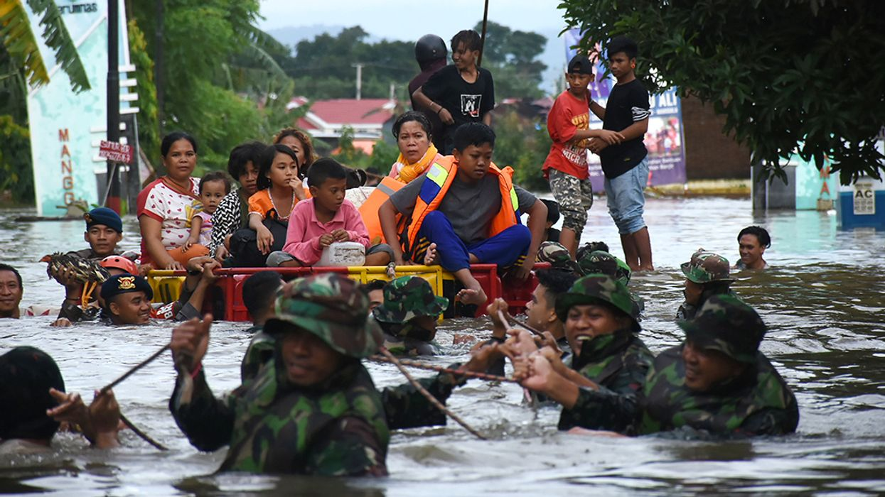 26 Dead, 3,000+ Displaced by Landslides and Floods in Indonesia