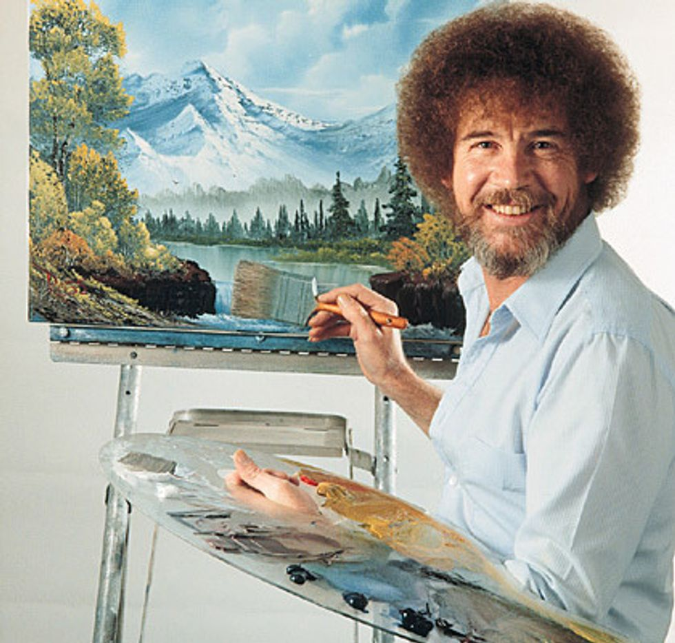 10 Bob Ross Quotes To Help You Paint Your Best Life