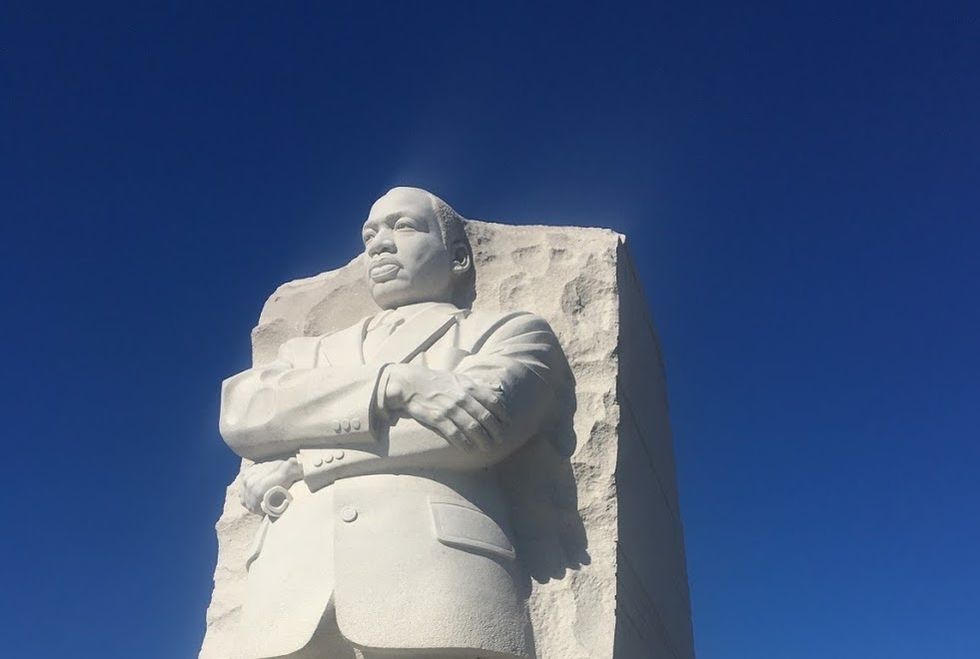 Poetry On Odyssey: Martin Luther King, Jr. He Had A Dream And We're Still Trying To Reach It Today