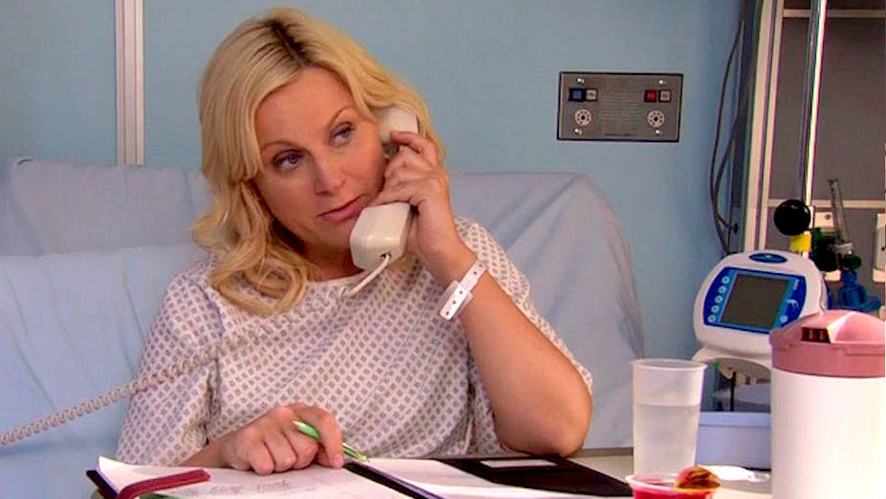 Figuring Out The First Test Week Of The Semester, With Leslie Knope