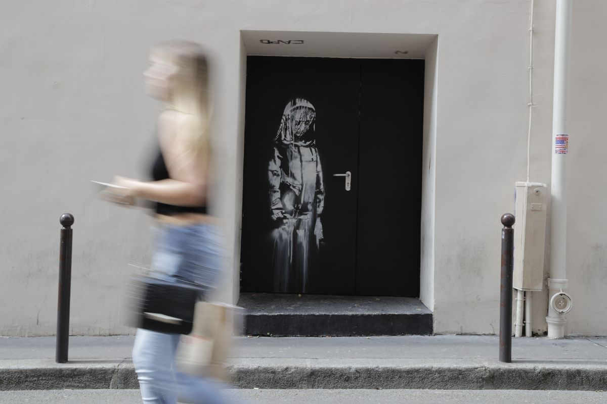 Where Did This Banksy-Tagged Door Go?