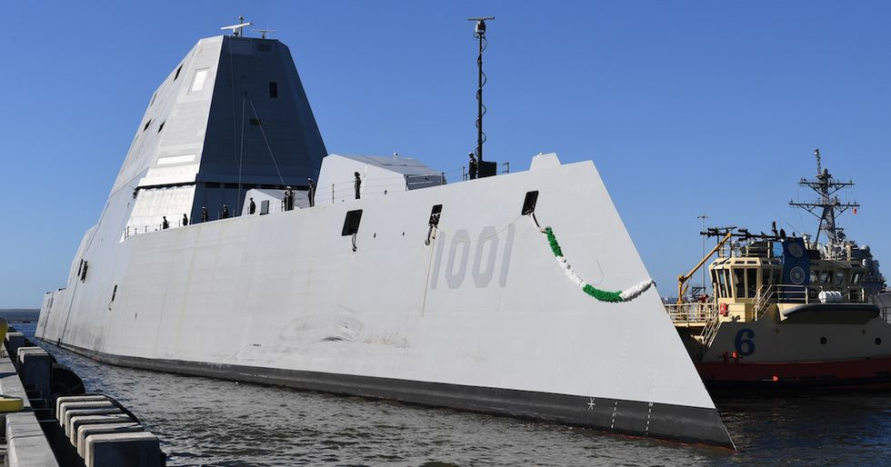 The Navy's Newest Destroyer Is As Much An Experiment As It