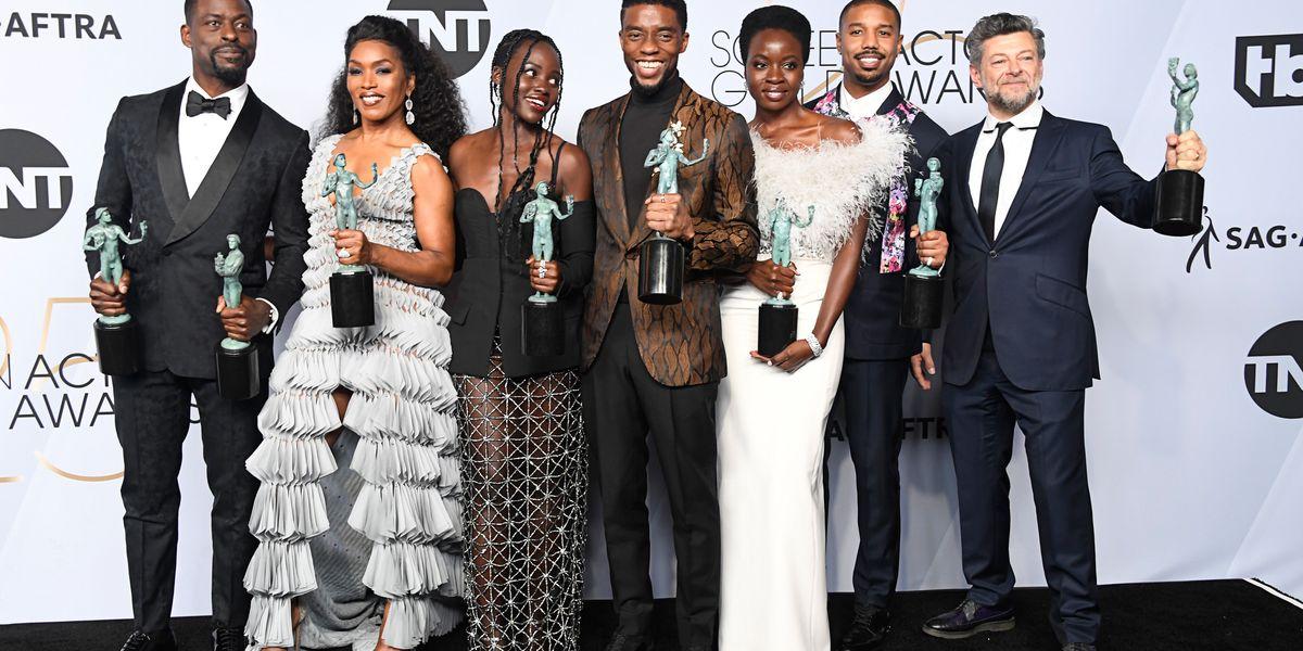 'Black Panther' Wins Big at the SAG Awards