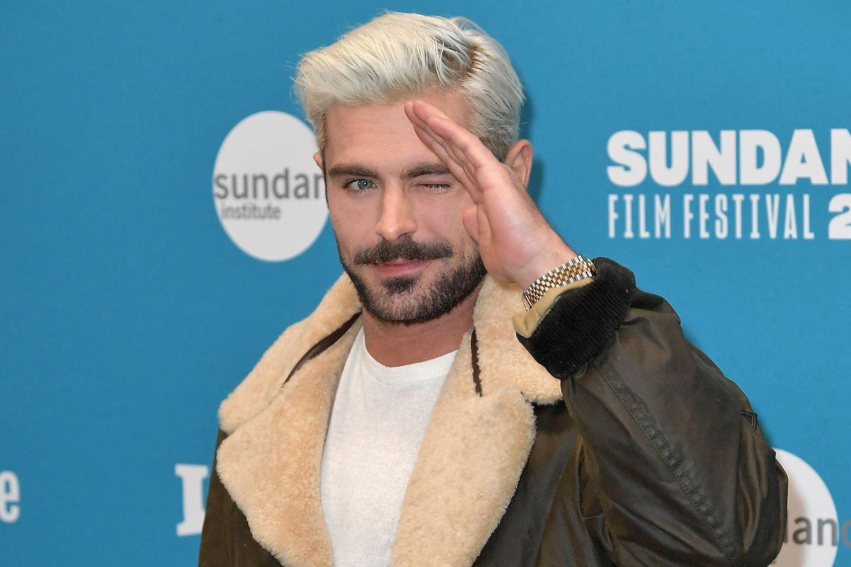 Hipsters, Dye Your Hair Back: Zac Efron Bleached His Hair