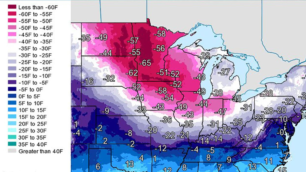 'Life Threatening' Cold Snap Could Break Records Across Midwest