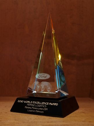 Penske Logistics Earns Ford Gold World Excellence Award