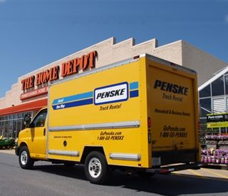 Penske and The Home Depot Expand Truck Rental Pilot Program