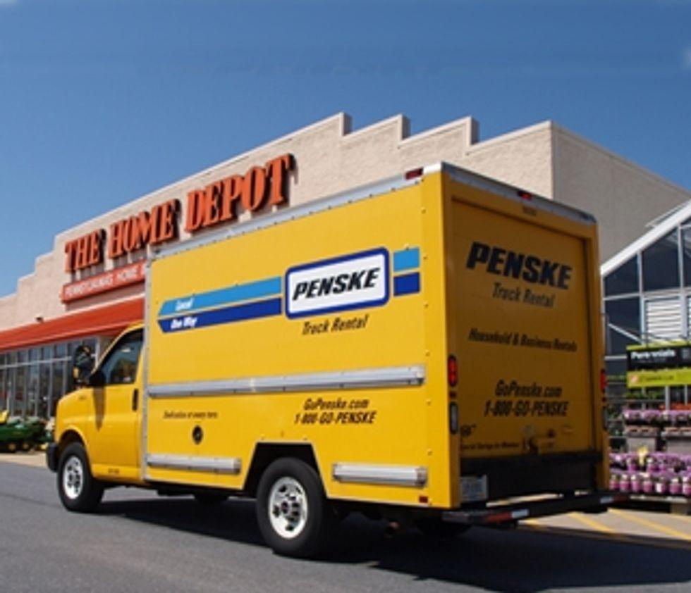 Penske And The Home Depot Expand Truck Rental Pilot Program Penske