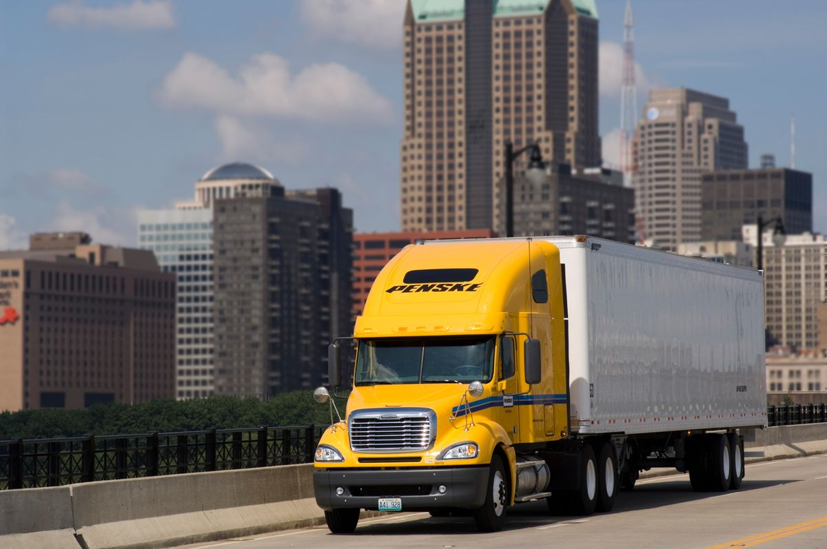 Penske Exhibits at National Private Truck Council Conference