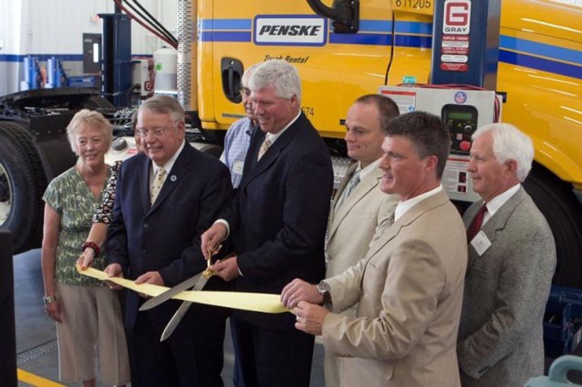 Penske Truck Leasing Facility Debuts in Garner, N.C.