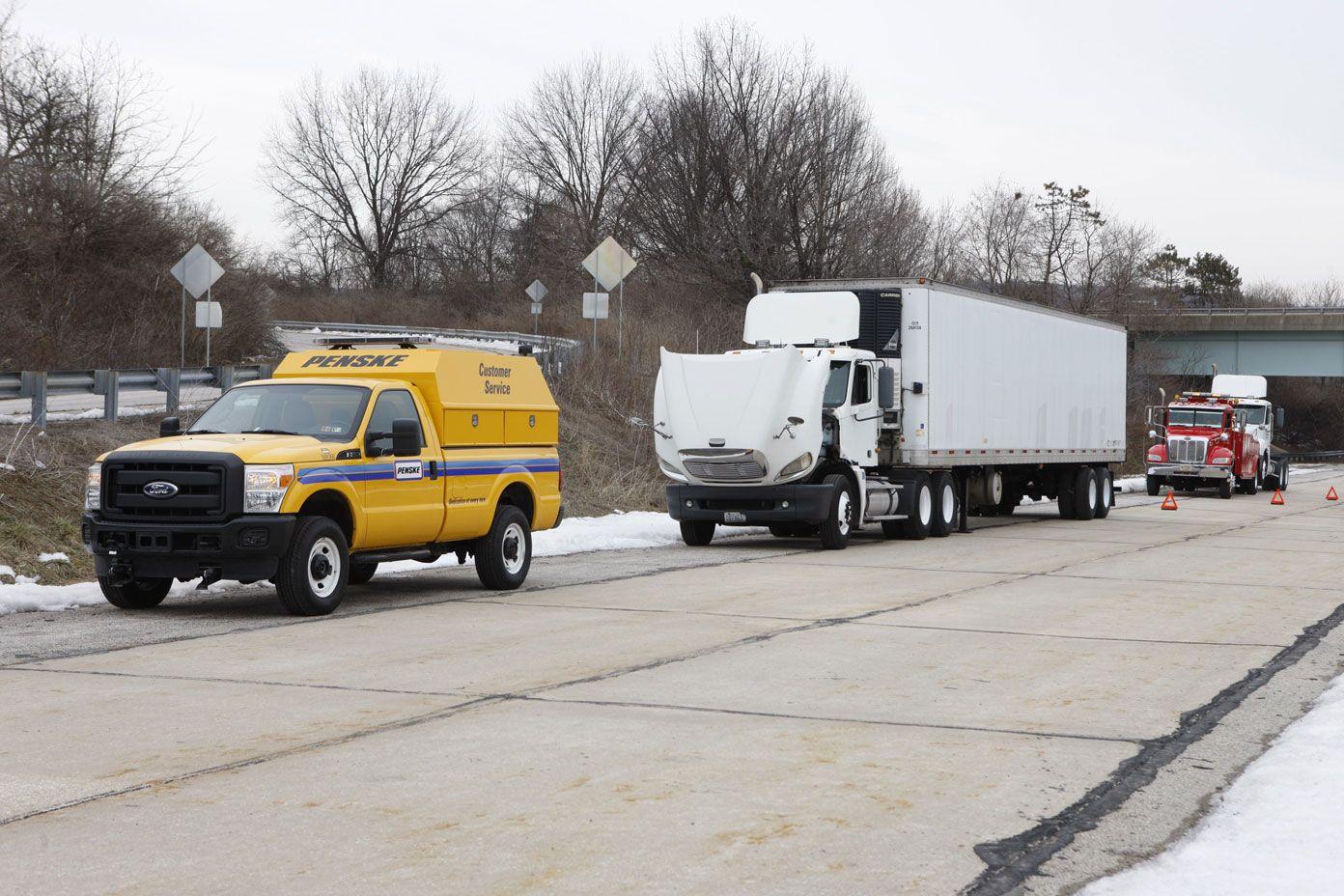 Penske's 24/7 Roadside Assistance Team is Always On Call