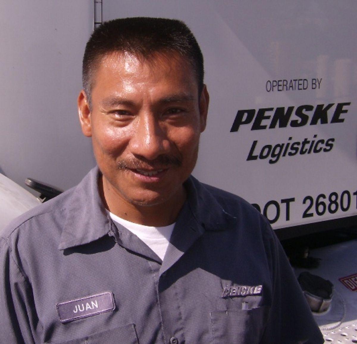 Penske Logistics Truck Drivers Deliver Excellence