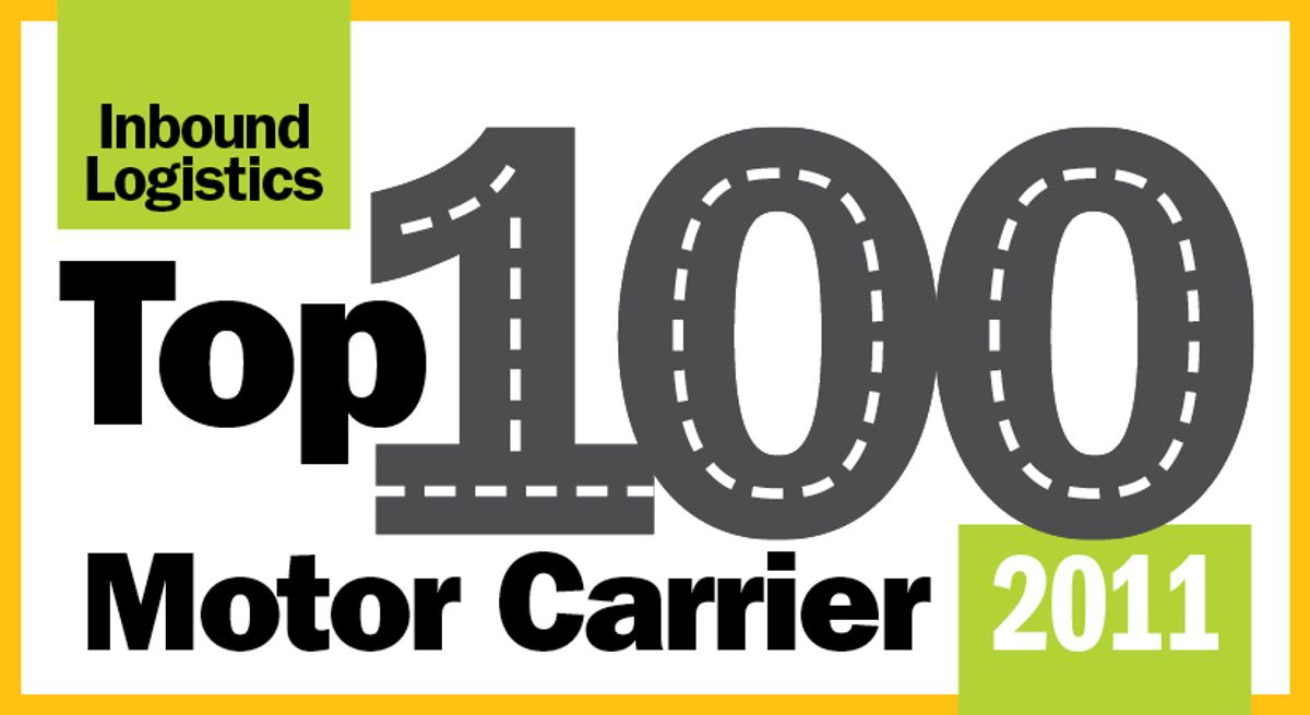 Penske Named to Top 100 Motor Carriers List by Inbound Logistics