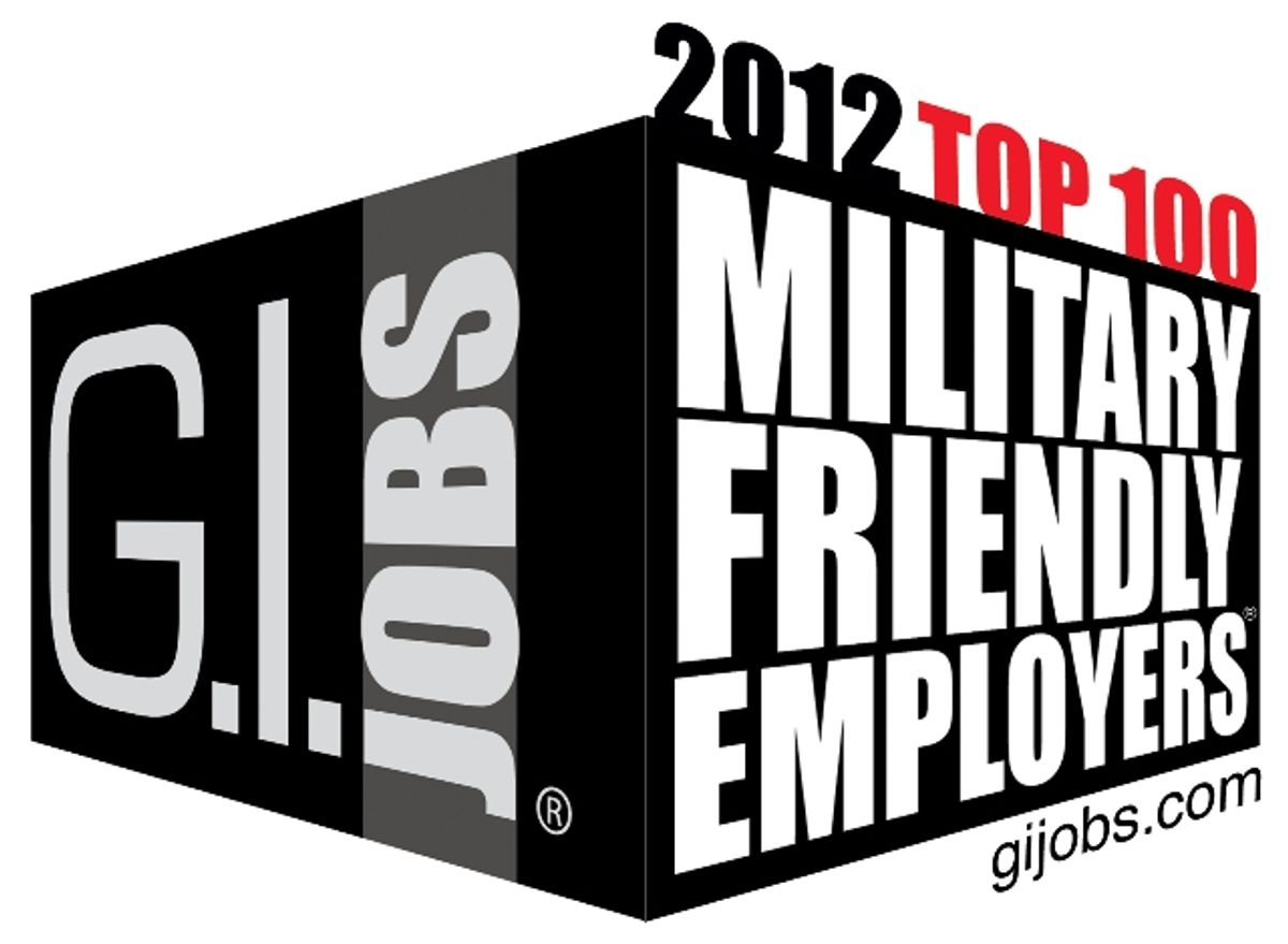 Penske Named a Top 100 Military Friendly Employer
