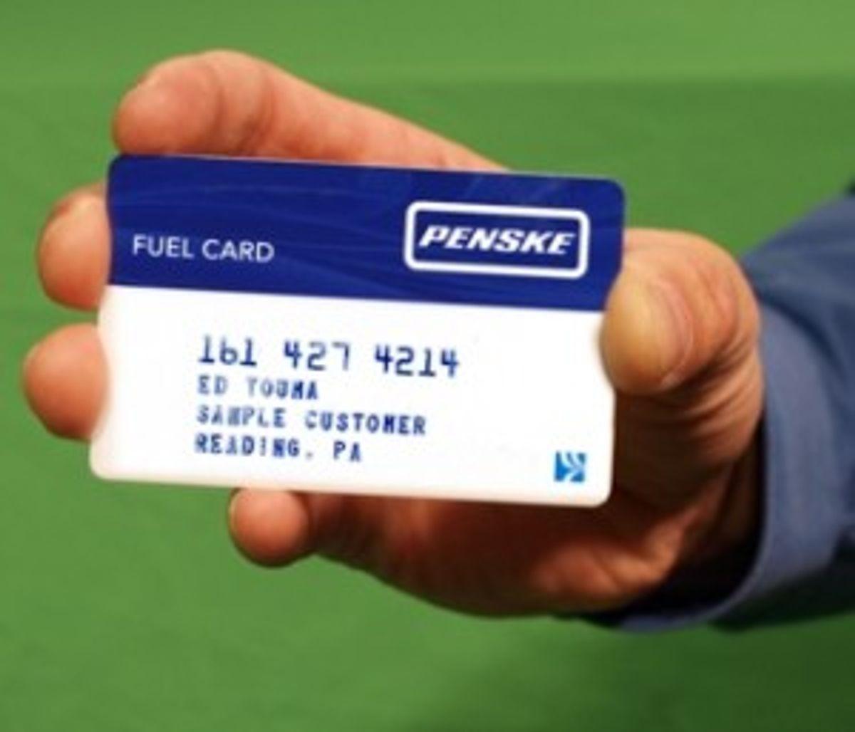 Existing Penske Truck Leasing Fuel Cards Deactivated July 31
