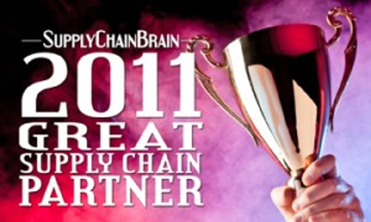 "Penske Logistics Named to ""2011 Great Supply Chain Partner"" List"