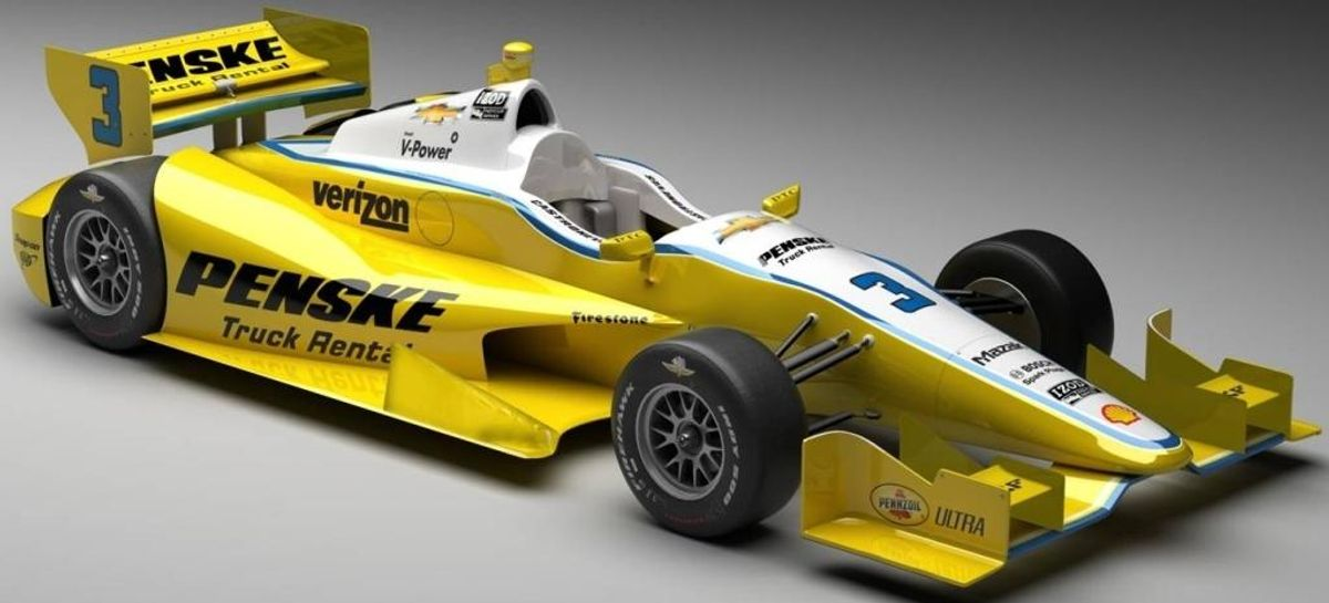 Helio Castroneves to Pilot Penske Truck Rental and Penske Logistics Branded IndyCars