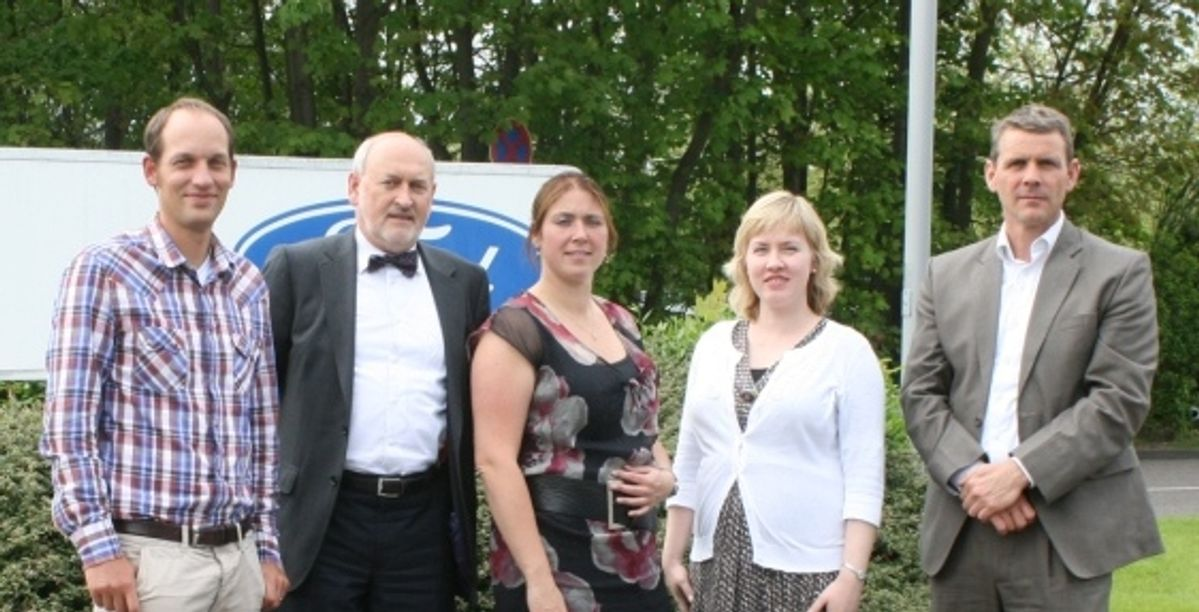 Penske and Ford Earn European Logistics Excellence Award