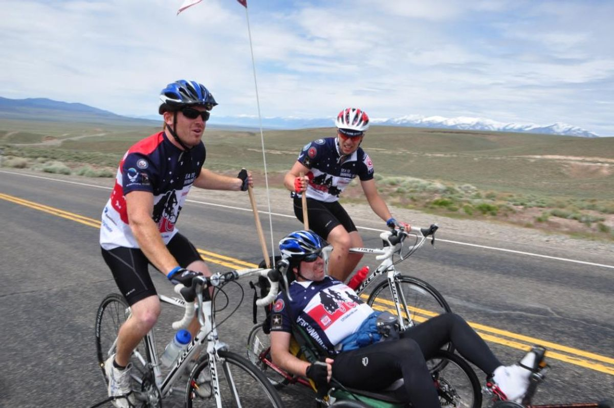 Penske Truck Rental Sponsors 2012 Sea to Shining Sea Bicycle Ride