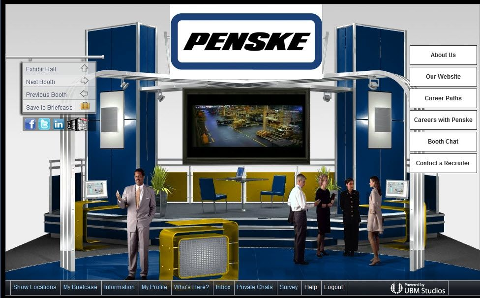 Penske Participating in Milicruit Online May Career Fairs