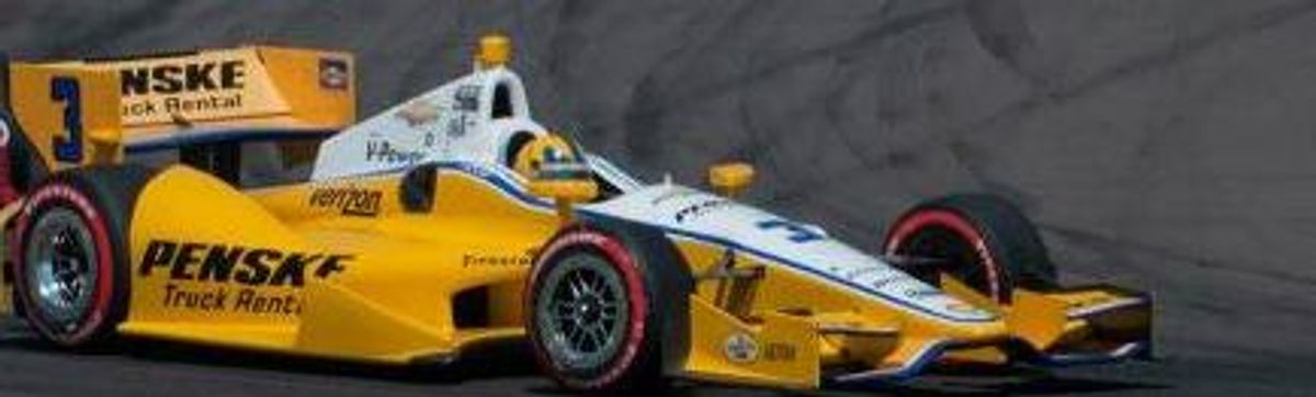 Helio and No. 3 Penske Truck Rental IndyCar Take on Baltimore