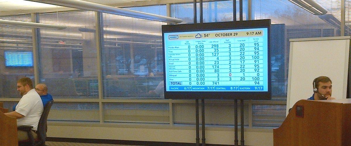 Penske 24/7 Roadside Assistance Center Ready for Hurricane Sandy