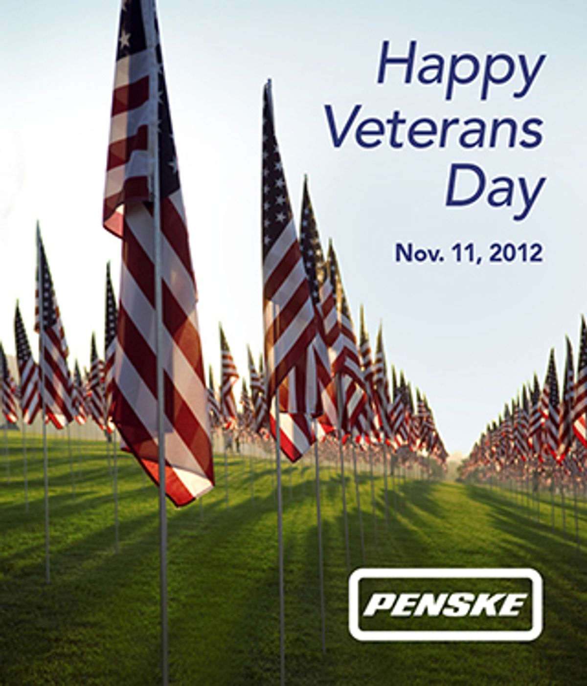 Penske Salutes Veterans and Military Personnel