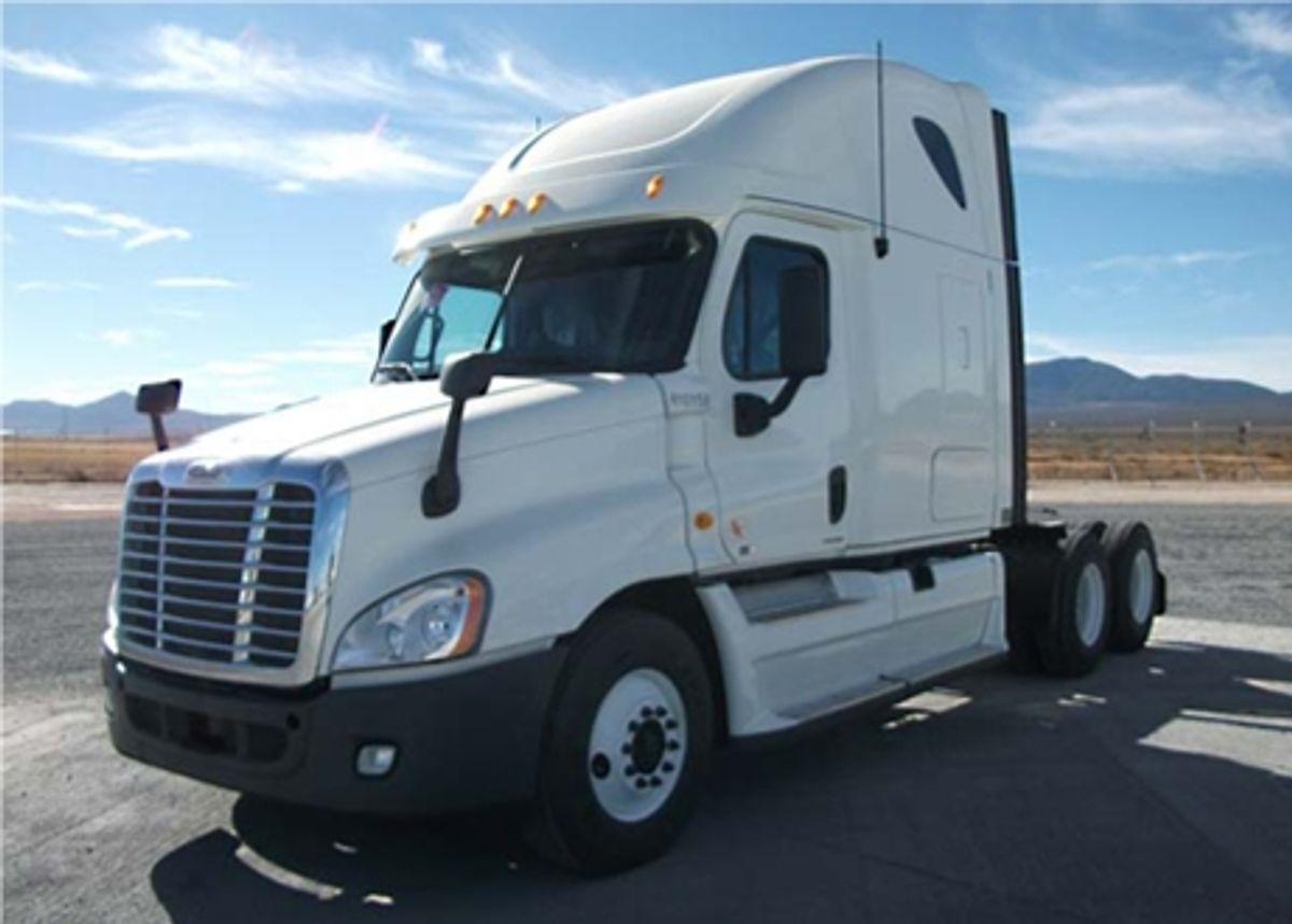Penske 2012 Freightliner Trucks Ready to Lease