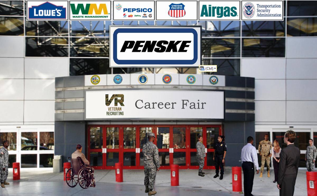 Penske Participating in Veteran Recruiting Online Career Fair