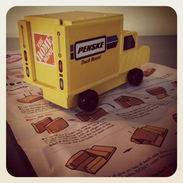 Fun Kid Stuff: Build a Penske Truck at The Home Depot July 7