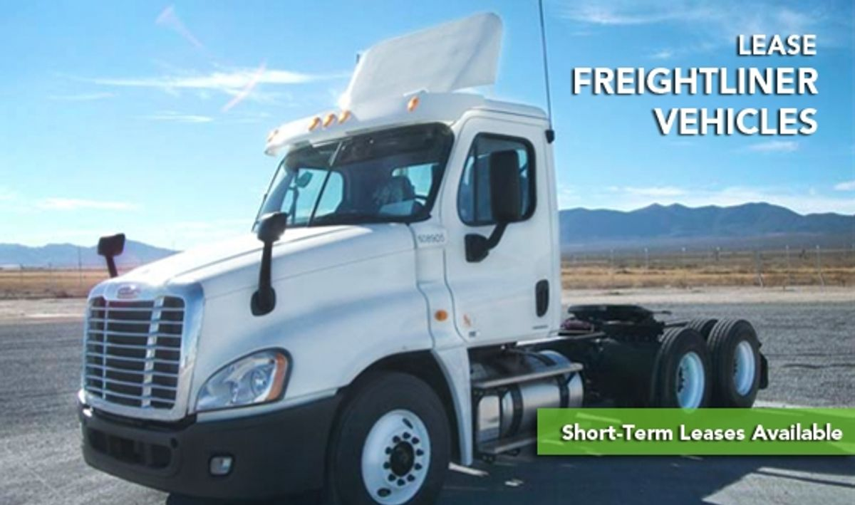 Penske Offers Try-Me Lease on Freightliner Day Cab Tractors