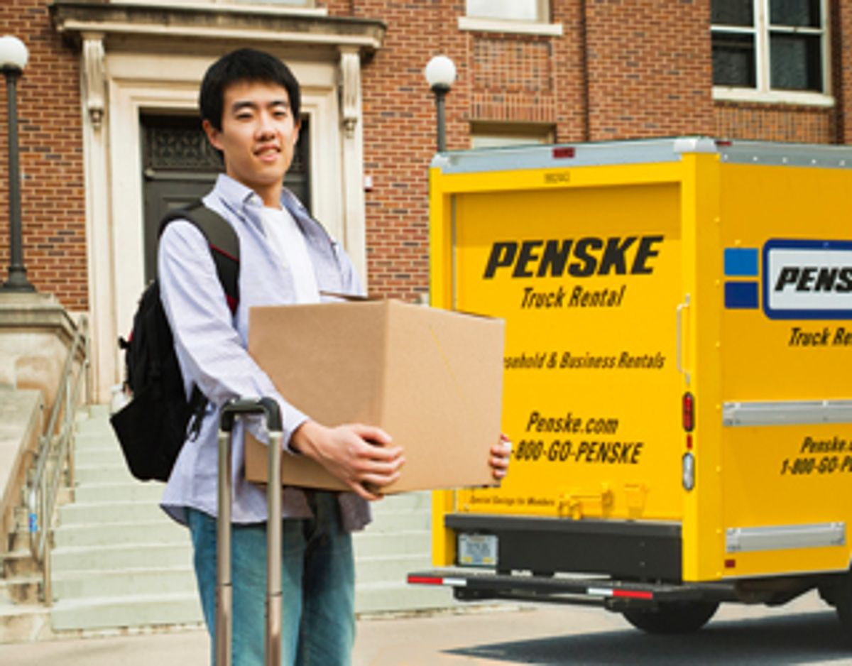 Moving Back to College Soon? Penske Can Help.
