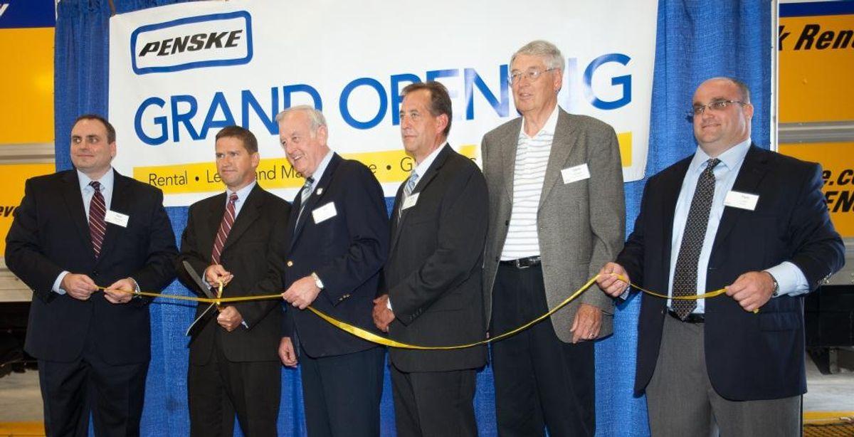 Penske Truck Leasing Opens New Davenport, Iowa, Location