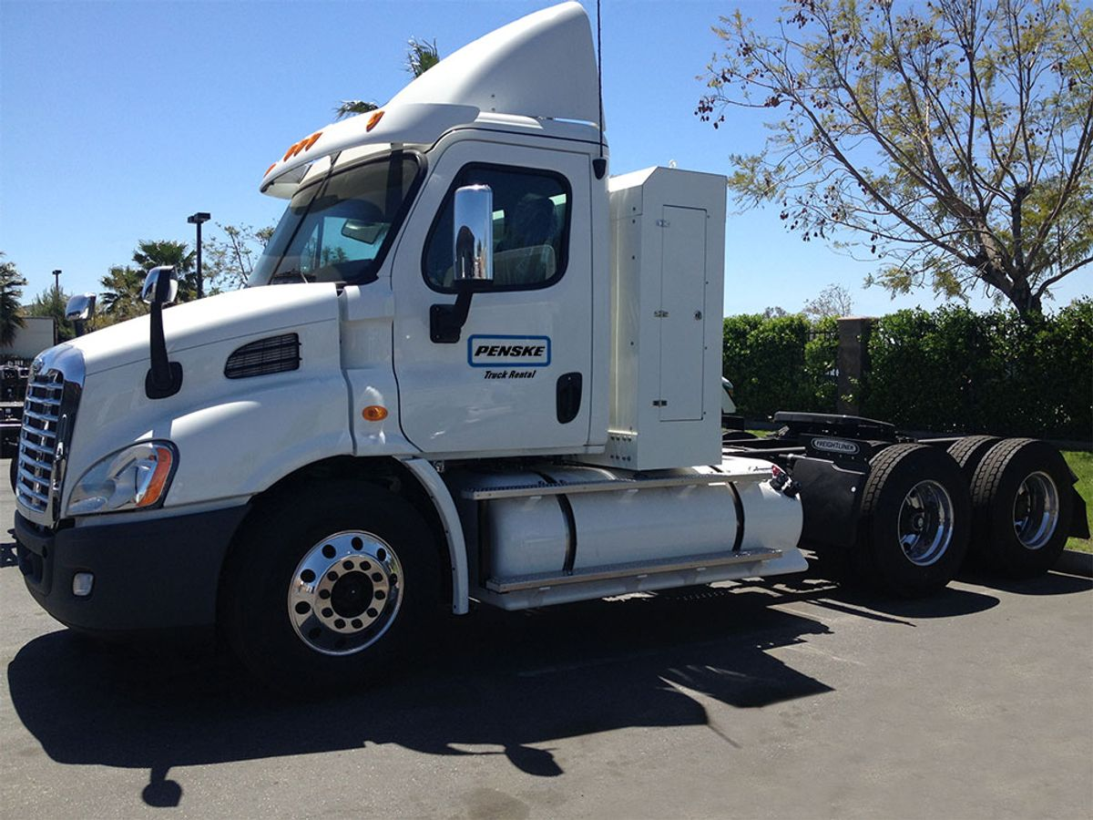 Penske Introduces Natural Gas Trucks for Rent in Select Markets