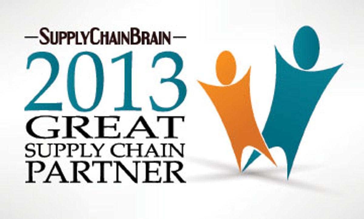 Penske Logistics Is 2013 SupplyChainBrain Great Supply Chain Partner