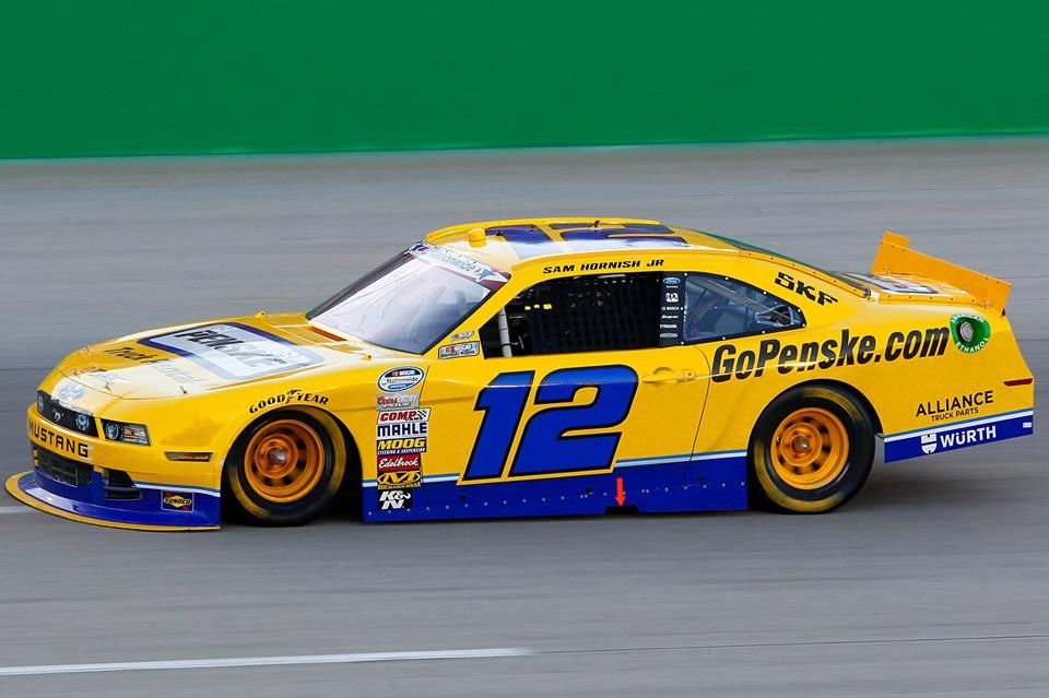 Penske to Appear in NASCAR Nationwide Series to Ride for Veterans