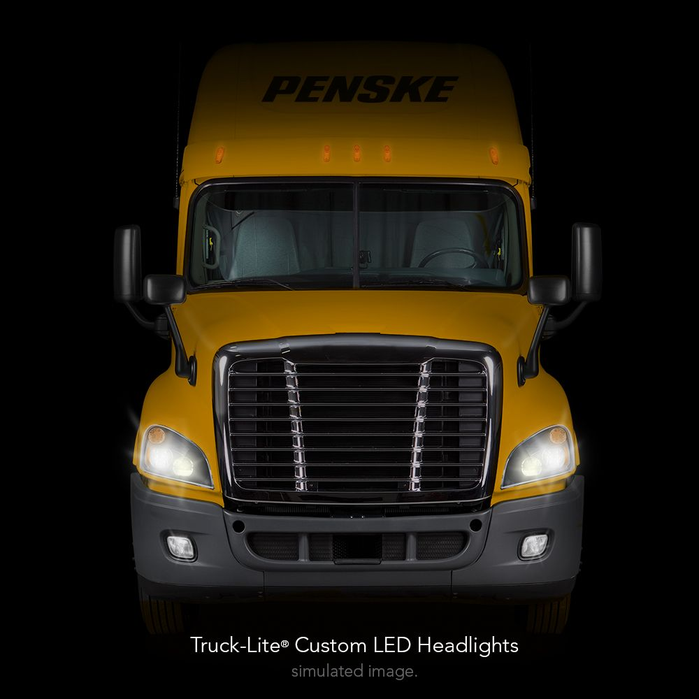 Penske Truck Rental Ahead of Schedule with LED Headlight Retrofit