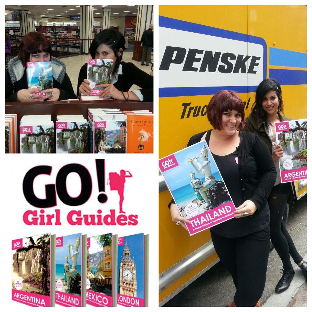 Authors Take Scenic Route in Penske Truck