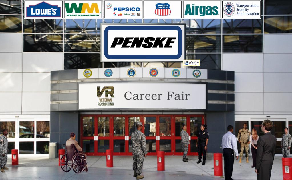 Penske Joins Veteran Virtual Career Fair July 30
