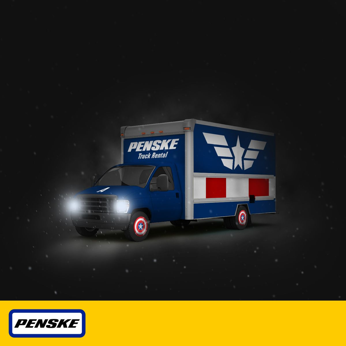 "Penske Part of Marvel's ""Captain America: The Winter Soldier"" (Video)"