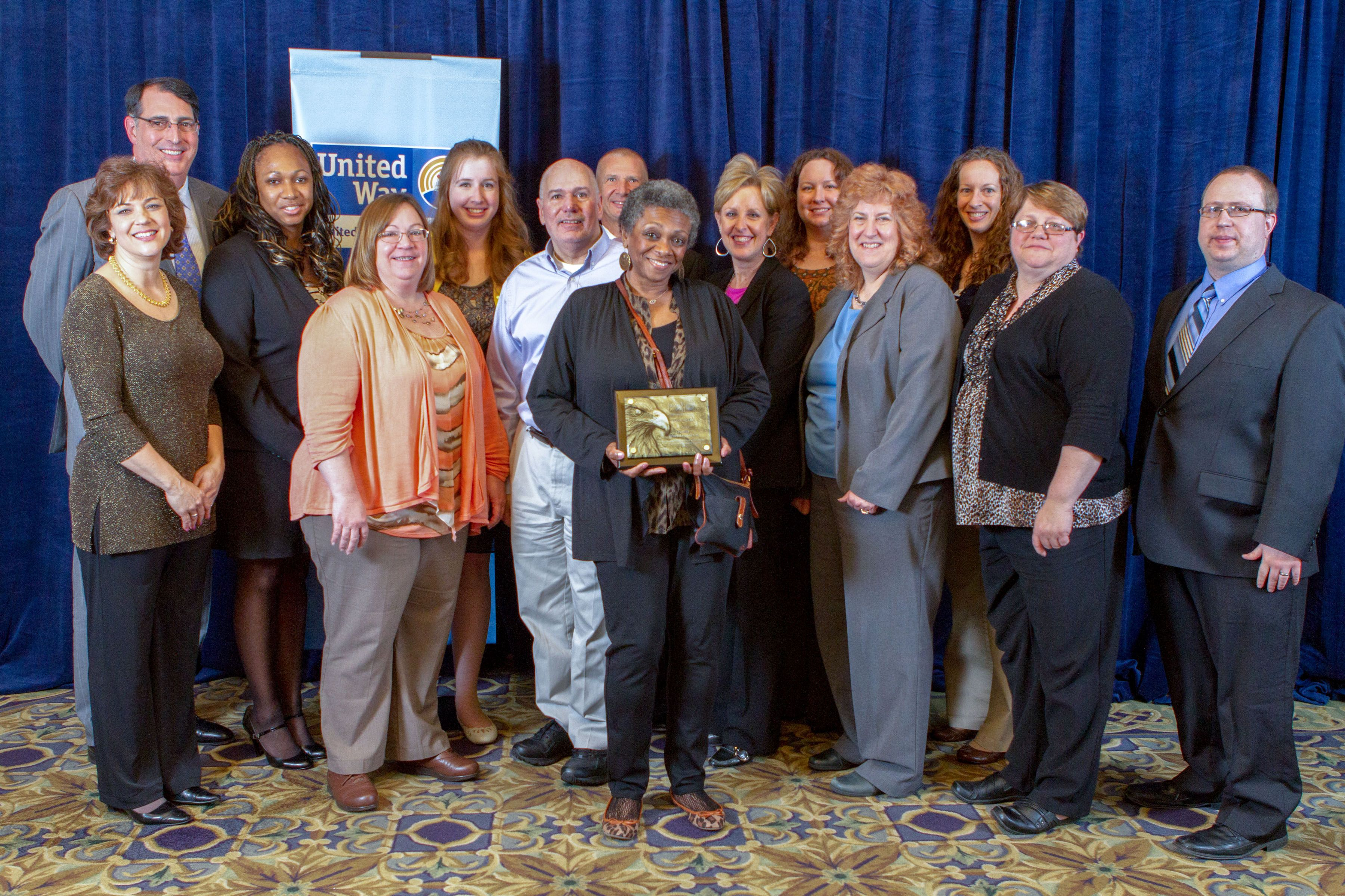 Local United Way Honors Penske Headquarters with Fundraising Award